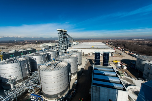 The Mossi Ghisolfi Biorefinery in Crescentino, Italy