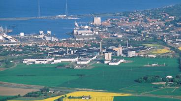 Novo Nordisk's production site in Kalundborg