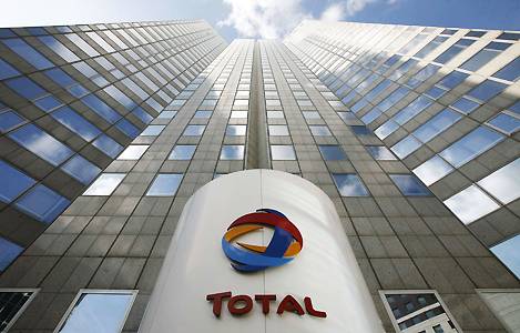 Total's headquarter in Paris