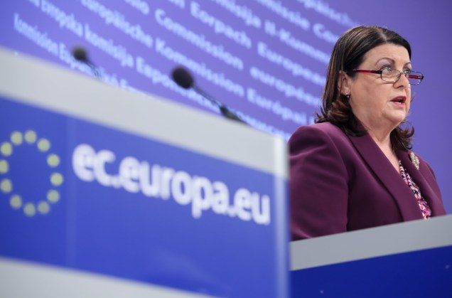 European Commissioner Máire Geoghegan-Quinn