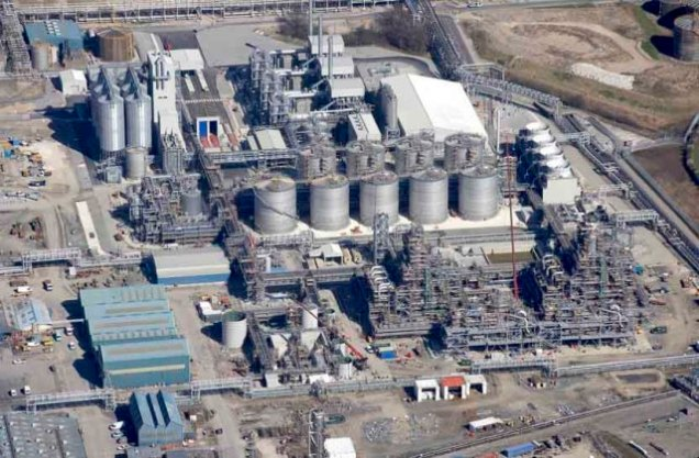 Vivergo bioethanol plant in Hull (England)