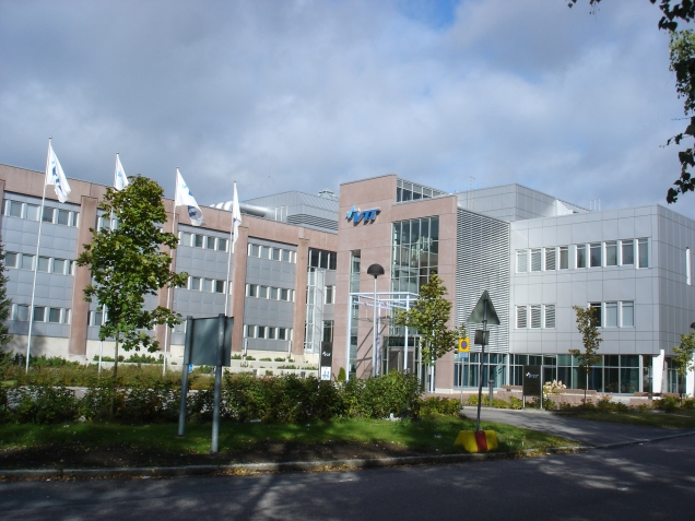 VTT Technical Research Center's headquarter in Tampere