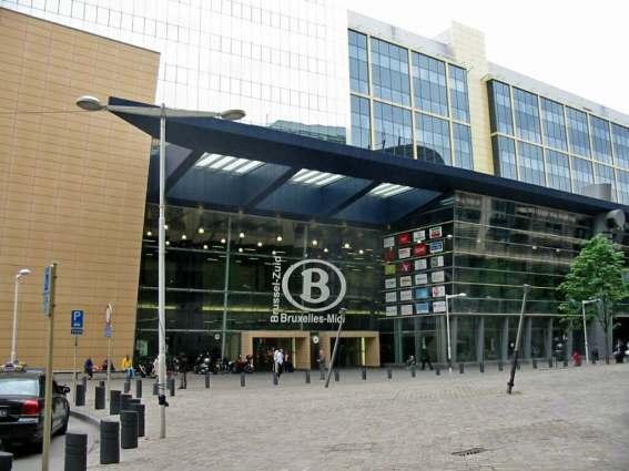 Brussels, Midi Train Station