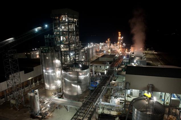 Crescentino Plant View: 2G biofuels biorefinery