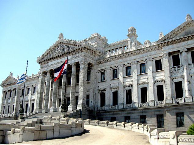 Montevideo (Uruguay), the Parliament