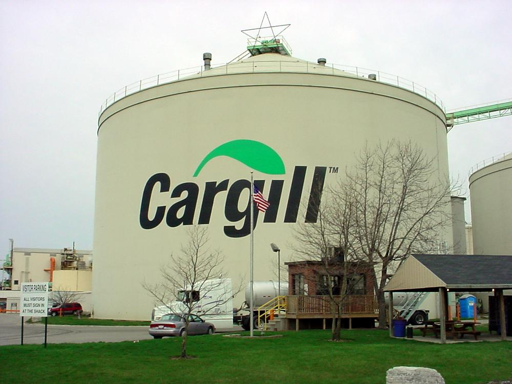 One of the U.S Cargill's Plants