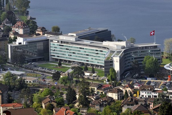 Nestlé Headquarter in Vevey, Switzerland