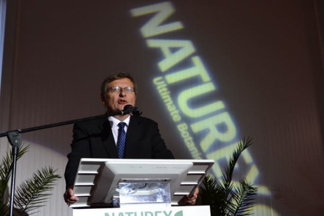 Thierry Lambert, President of Naturex