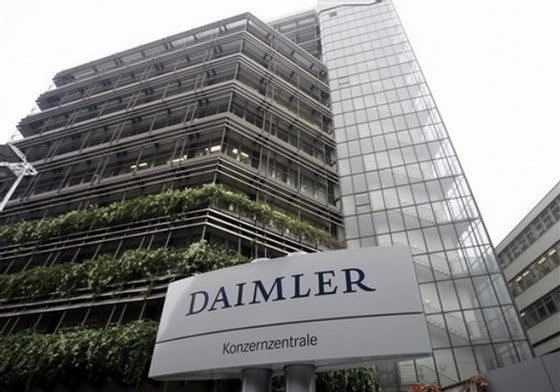 Daimler Headquarter in Stuttgart, Germany