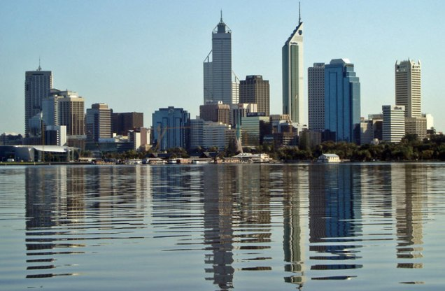 Perth, the capital of Western Australia