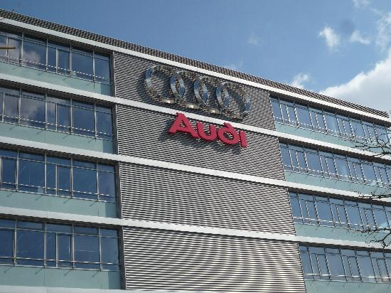 Headquarter of Audi in Ingolstadt (Germany)