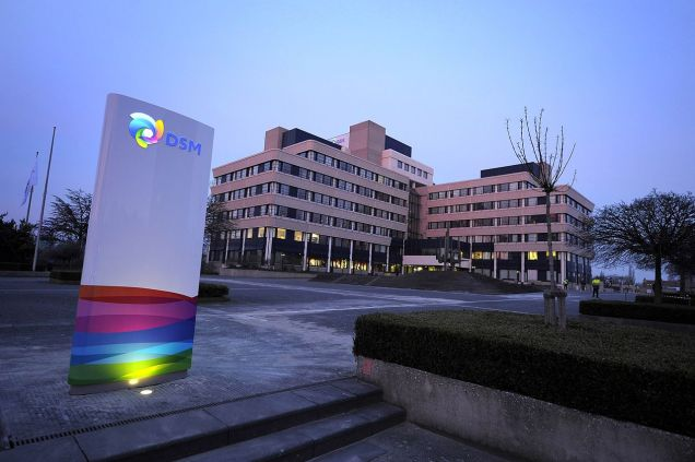 Headquarter of Royal DSM in Heerlen (The Netherlands)