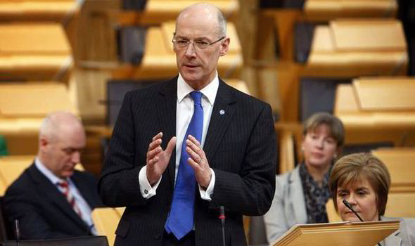 John Swinney, Finance Secretary of Scotland