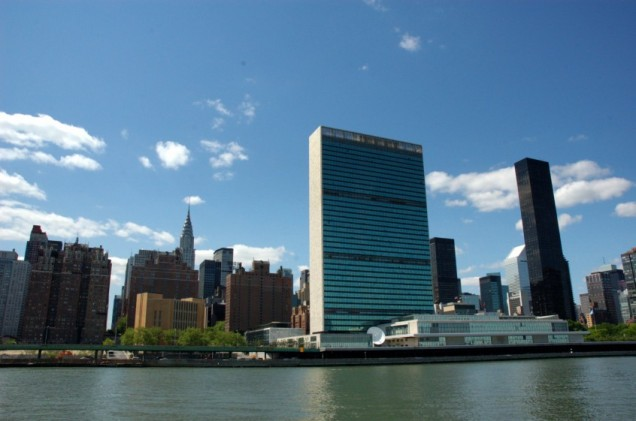 The UN Building in New York City