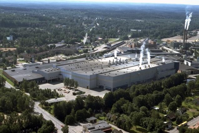 Stora Enso paper mill in Hyltebruk (Sweden)