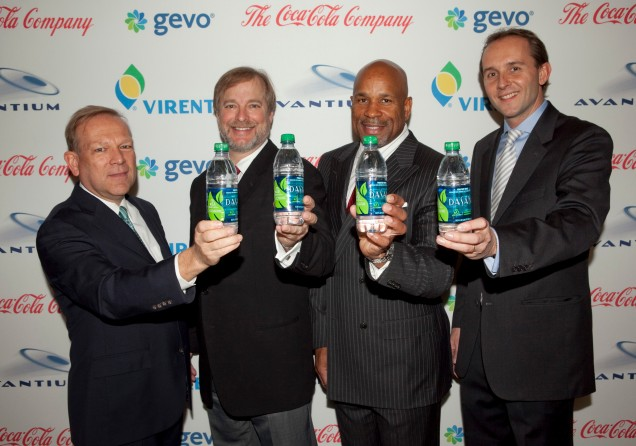 Avantium and Coca-Cola together to produce bio-based bottles