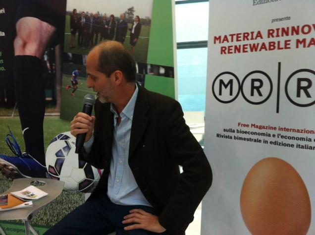 Marco Moro, Editor-in-Chief of Renewable Matter