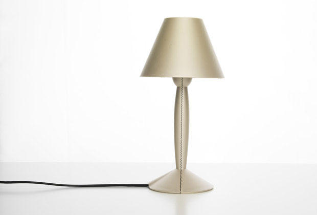 Bio-on produced bioplastic used in this new version of Flos' Miss Sissi lamp