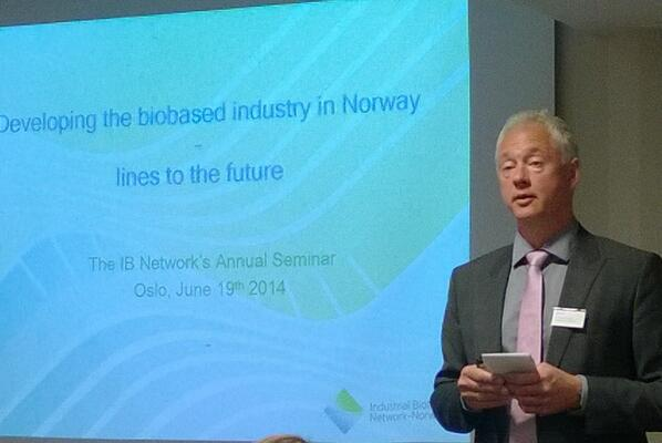 Ernst Kloosterman, CEO of the Industrial Biotech Network Norway