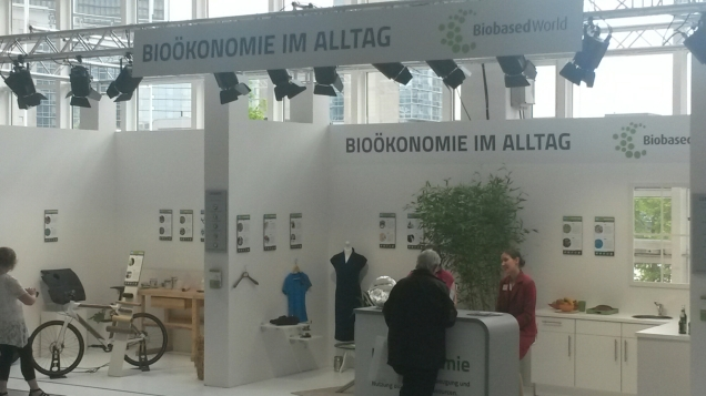 Bioeconomy every day @ BioBased World 2015 in Frankfurt am Main