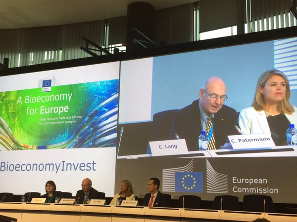 Chris Patermann at the Bioeconomy Investment Summit, Brussels, 9-10 November