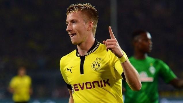 Marco Reus. Evonik is popular as main sponsor of German Football team Borussia Dortmund