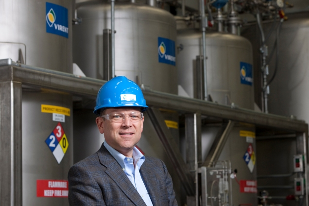 Lee Edwards, president and CEO of Virent Energy Systems (Photo Andy Manis). Source: Virent