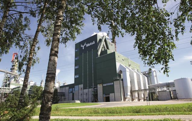 Mesa Group Aanekoski pulp mill. Source: www.metsafibre.com