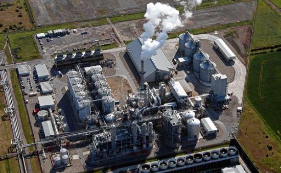 CropEnergies' bioethanol plant