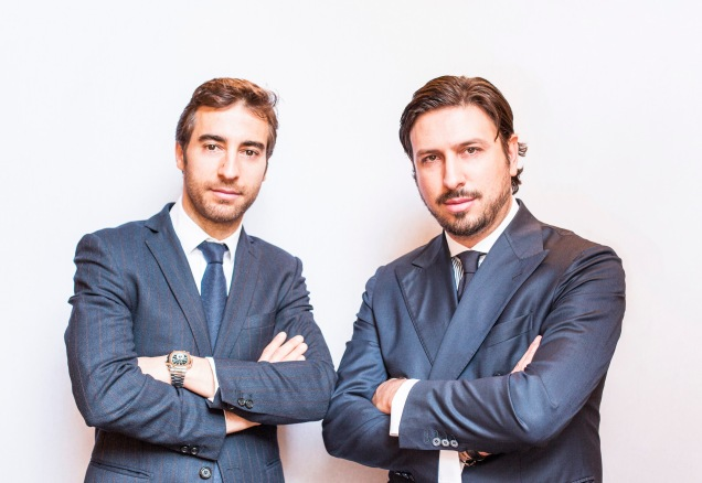Mathieu Flamini and Pasquale Granata launch The BioJournal