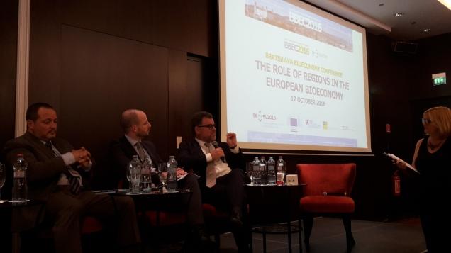 John Bell, EU Commission, in Bratislava