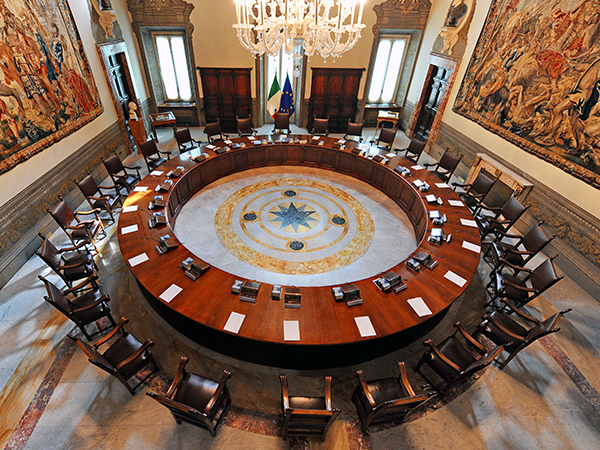 The Italian Council of Ministers