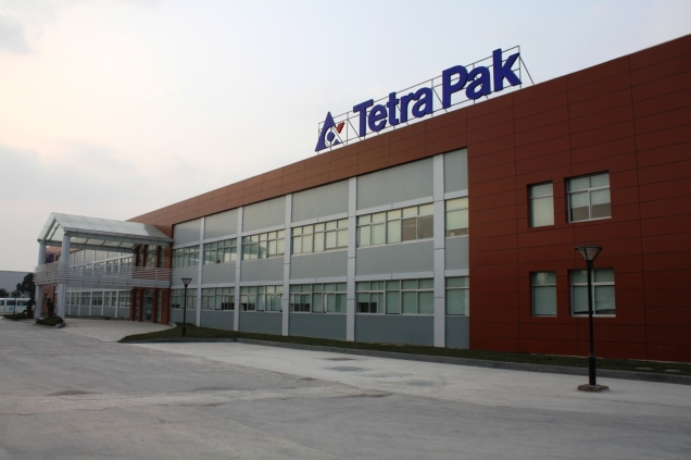 Tetra Pak's headquarter in Sweden