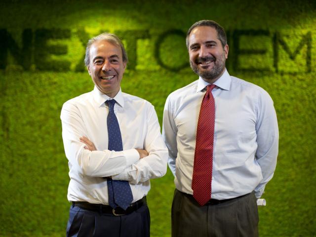 President Fabrizio Di Amato, Founder Pierroberto Folgiero